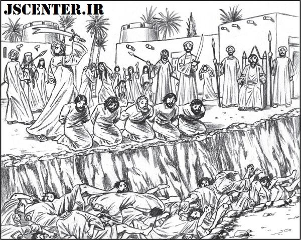 اعدام یهودیان بنیقریظه در حضور زنان و کودکان اسیر یهودی