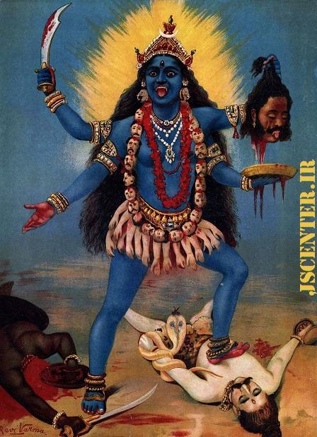 الهه کالی در هندوئیسم