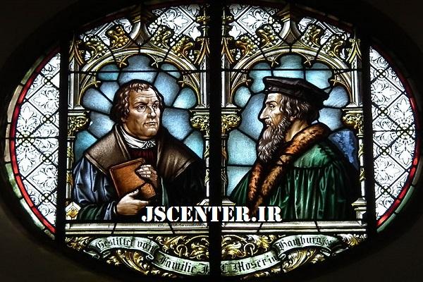 جان کالون و مارتین لوتر از سران پروتستانتیسم