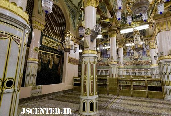 ستون توبه ابولبابه در مسجدالنبی