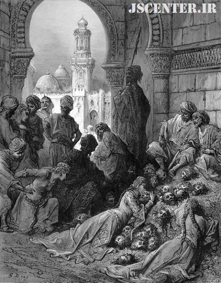 سوگواری زنان برای یهودیان بنیقریظه