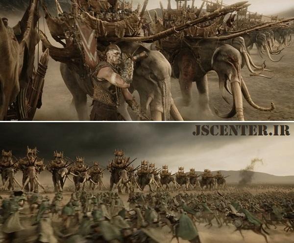 سپاه فیل سواران در ارباب حلقهها