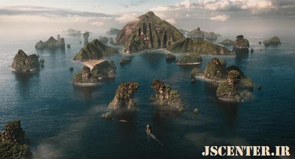 جزیره درخت بهشتی در فیلم دولیتل