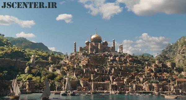 جزیره مونته وردی در فیلم دولیتل