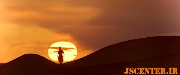 صحنه غروب خورشید در فیلم مورتال کامبت