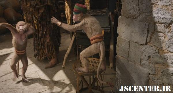 میمونهای جزیره مونته وردی در فیلم دولیتل