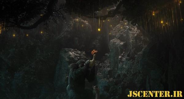 میوه درخت بهشتی و درخت عدن در فیلم دولیتل