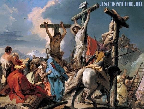 نقاشی تصلیب عیسی