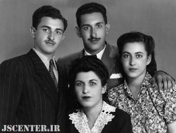 همایون صنعتیزاده و خانواده