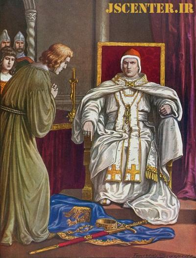 شاه هنری چهارم و پاپ گرگوری هفتم