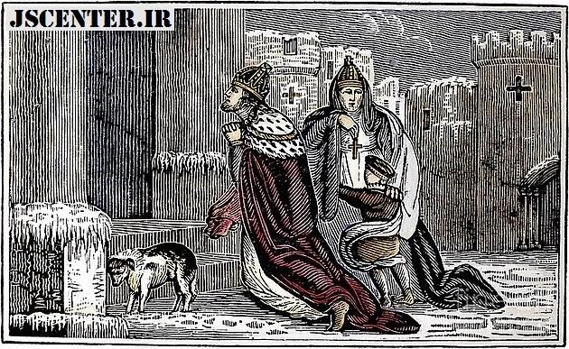 شاه هنری چهارم و پاپ گریگوری هفتم