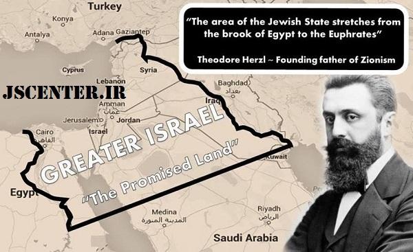 هرتزل و توسعهطلبی اسرائیل بزرگ