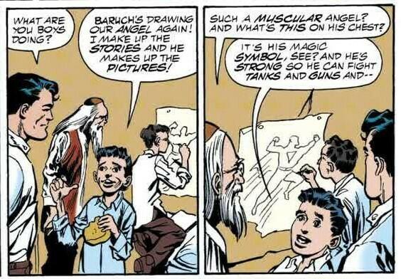 گولم و سوپرمن در کتابهای مصور 1