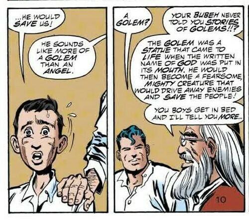 گولم و سوپرمن در کتابهای مصور 2